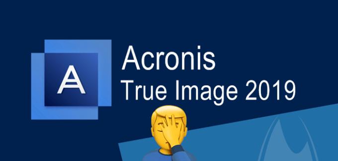Acronis True Image отзыв